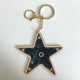 Brelok cekinowa gwiazda - PU253
