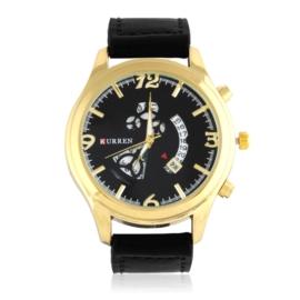 Zegarek męski - czarny pasek - Z1284
