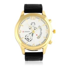 Zegarek męski - czarny pasek - Z1287