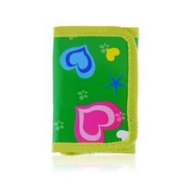 Portfel dziecięcy 11x7cm - green - P1157