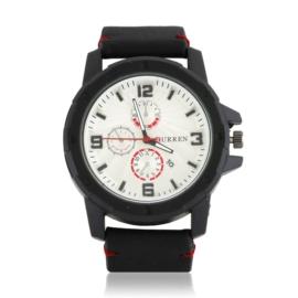 Zegarek męski - czarny pasek - Z1312
