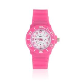 Zegarek dziecięcy silikonowy - ciemny różowy Z1325