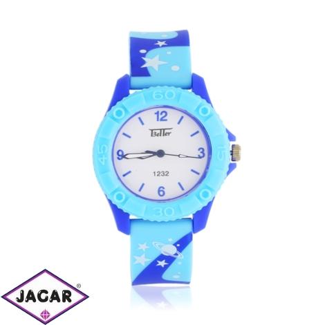 Zegarek dziecięcy na silikonowym pasku - Z1343