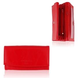 Portfel damski Raffaello - czerwony - P1193