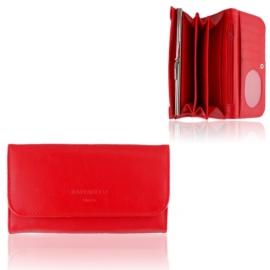 Portfel damski Raffaello - czerwony - P1196