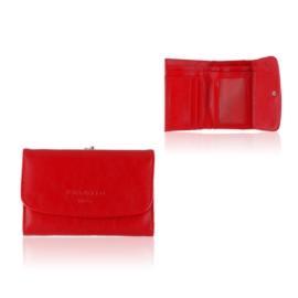 Portfel damski Raffaello - czerwony - P1199