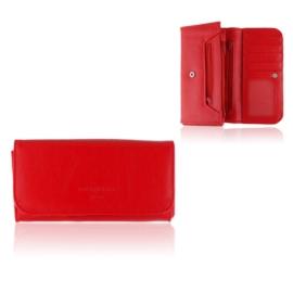 Portfel damski Raffaello - czerwony - P1204
