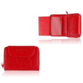 Portfel damski Raffaello - czerwony - P1205