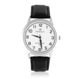 Zegarek męski na skórzanym pasku vintage - Z1344