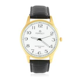 Zegarek męski na skórzanym pasku vintage - Z1346