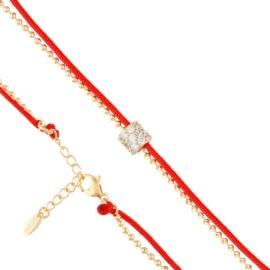 Bransoletka na sznureczku - Xuping BP5722
