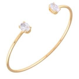 Bransoletka sztywna z kryształkami Xuping BP5723