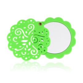 Lusterko kieszonkowe zielone - MUP174