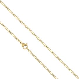 Łańcuszek stal chirurgiczna 45cm Xuping - LAP1885