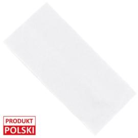 Opaska klasyczna lycra 8cm - biała OPS486