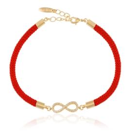 Bransoletka na sznurku infinity - Xuping BP5813