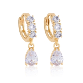 Kolczyki z wiszącymi kryształkami Xuping EAP13166