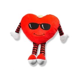 Maskotka poduszka serce małe 38cm Walentynki PO23