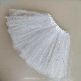Spódniczka tiulowa XXS - biała - IN22