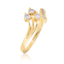 Pierścionek z kryształkami - Xuping PP2635