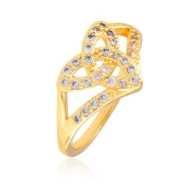 Pierścionek z kryształkami - Xuping PP2637