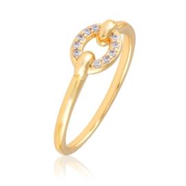 Pierścionek z kryształkami - Xuping PP2638