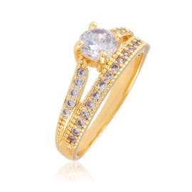 Pierścionek z kryształami - Xuping PP2646