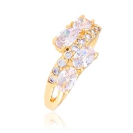 Pierścionek z kryształami - Xuping PP2647