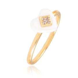 Pierścionek ceramiczny - Xuping PP2651