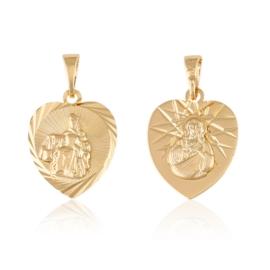 Medalik szkaplerz - Xuping PRZ2438