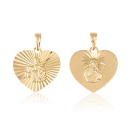 Medalik szkaplerz - Xuping PRZ2439