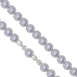 Bransoletka z kryształkami - Xuping - BP6087
