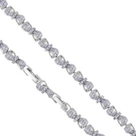 Bransoletka z kryształkami - Xuping - BP6088