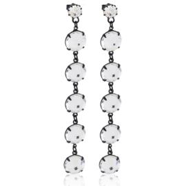 Kolczyki wiszące kryształy 53/283 EA3206