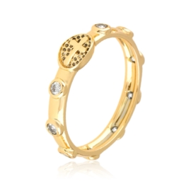 Pierścionek różaniec - Xuping PP2654