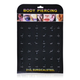 Body Piercing - 36szt - PRC44