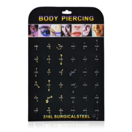 Body Piercing - 36szt - PRC50