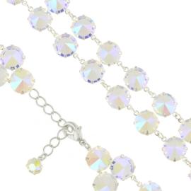 Bransoletka kryształy opal 53/265 - BRA2664