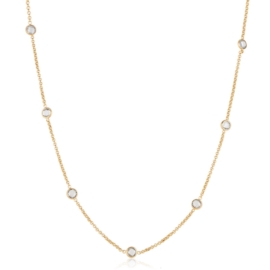 Komplet biżuterii z kryształkami - Xuping PK519