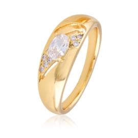 Pierścionek - kryształowe oczko - Xuping PP2669