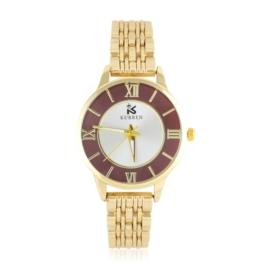 Zegarek na bransolecie - red - Z1540