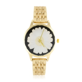 Zegarek na bransolecie - stokrotka - Z1542