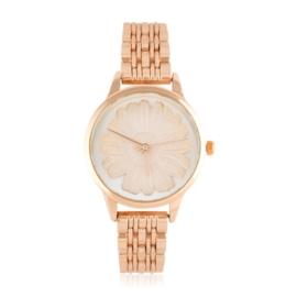 Zegarek na bransolecie - stokrotka - Z1543