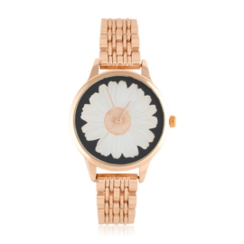 Zegarek na bransolecie - stokrotka - Z1544