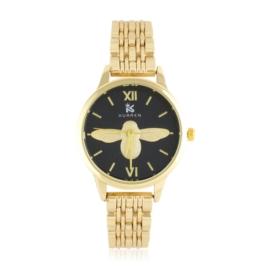 Zegarek na bransolecie - pszczoła - Z1548