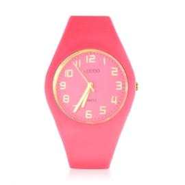 Zegarek silikonowy - różowy - Z1557