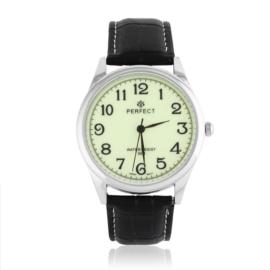 Zegarek męski na skórzanym pasku - Z1559