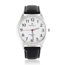 Zegarek męski na skórzanym pasku - Z1560