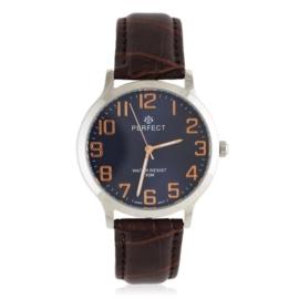 Zegarek męski na skórzanym pasku - Z1561