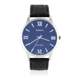 Zegarek męski na skórzanym pasku - Z1562